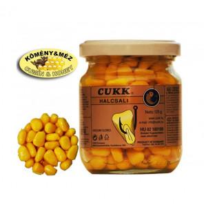 CUKK Sweet Corn Kreuzkümmel & Honig 220ml gelb gefärbt Mais im Glas CUKK Hookbaits