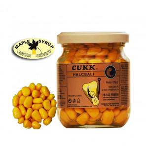CUKK Sweet Corn Ahornsirup 220ml gelb gefärbt Mais im Glas CUKK Hookbaits