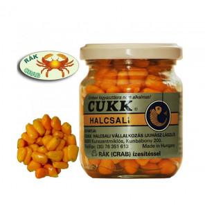 CUKK Sweet Corn Krabbe 220ml orange gefärbt Mais im Glas CUKK Hookbaits
