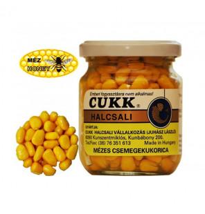 CUKK Sweet Corn Honig 220ml gelb gefärbt Mais im Glas CUKK Hookbaits