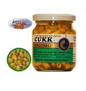CUKK Sweet Corn mit Anis Aroma 220ml Mais im Glas CUKK Hookbaits