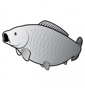 Delphin Sticker Carp Silver Aufkleber Delphin Diverse Geschenkideen