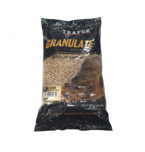 Traper Groundbait Granulat 5mm 1kg Honig Pellets Traper Groundbait & Partikelfutter