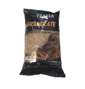 Traper Groundbait Granulat 5mm 1kg Sweet Corn Pellets Traper Groundbait & Partikelfutter