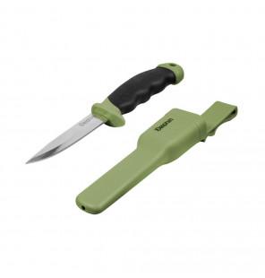 Delphin Spliter Knife Survival Messer mit Scheide Angelmesser Delphin Messer