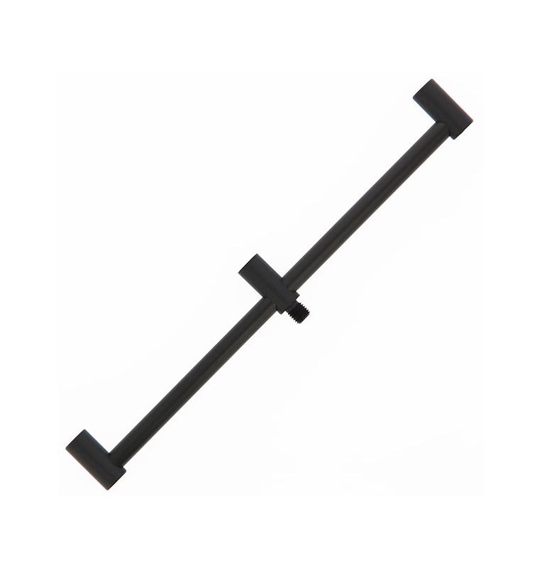 NGT Black Aluminium Buzz Bar 3 Ruten NGT Rod Pod´s, Banksticks & Buzzerbars