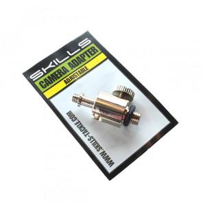 Skills Adjustable Camera Adapter Gewinde zur Befestigung der Kamera am Rod Pod Bankstick Skills Diverses