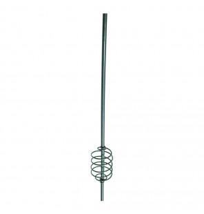 York Futterspirale mit Stab 21cm ohne Blei Grundangeln Futterkorb York Futterkörbe & Bleie
