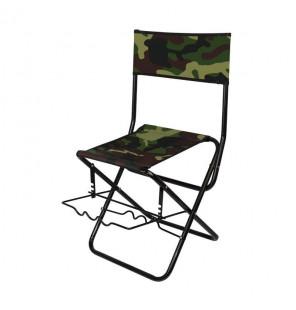 York Camouflage Chair mit Rutenhalter Klappbar York Angelliegen & Angelstühle