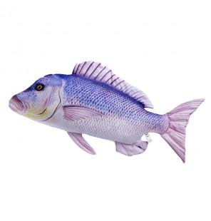 Gaby Fischkissen Zahnbrasse Big 80cm, Plüschfisch, Stofftier Gaby Big Fish
