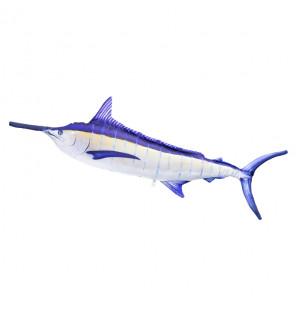 Gaby Fischkissen Blue Marlin (gelb) Giant 118cm, Plüschfisch, Stofftier Gaby Giant Fish