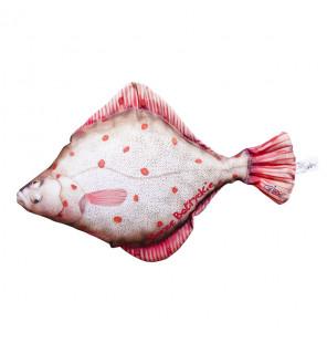 Gaby Fischkissen Flunder, Plüschfisch, Stofftier Gaby Mini Fish