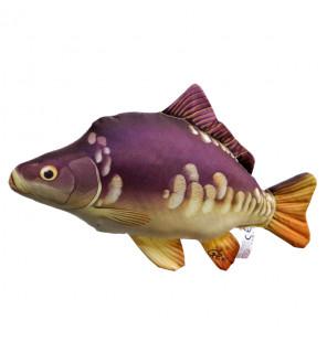 Gaby Fischkissen Spiegelkarpfen Mini 36cm, Plüschfisch, Stofftier Gaby Mini Fish