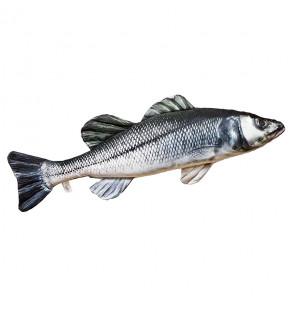 Gaby Fischkissen Wolfsbarsch Big 70cm, Plüschfisch, Stofftier Gaby Big Fish