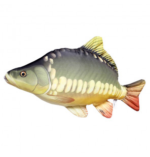 Gaby Fischkissen Spiegelkarpfen Big 61cm, Plüschfisch, Stofftier Gaby Big Fish