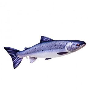 Gaby Fischkissen Atlantischer Lachs Giant 90cm, Plüschfisch, Stofftier Gaby Big Fish
