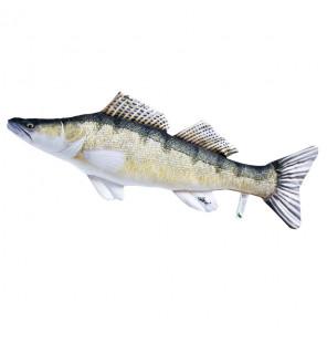 Gaby Fischkissen Zander Big 75cm, Plüschfisch, Stofftier Gaby Big Fish