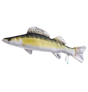Gaby Fischkissen Zander Mini 50cm, Plüschfisch, Stofftier Gaby Mini Fish