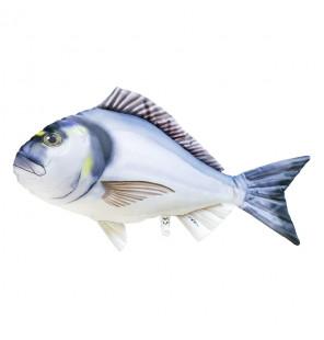 Gaby Fischkissen Goldbrasse Big 60cm, Plüschfisch, Stofftier Gaby Big Fish