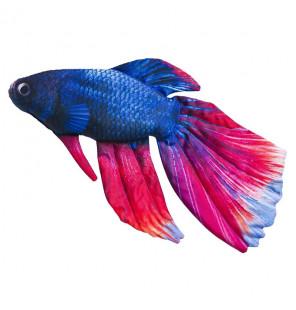Gaby Fischkissen Siamesischer Kampffisch Big 53cm, Plüschfisch, Stofftier Gaby Big Fish