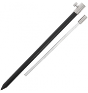 NGT Black Aluminium Bank Stick Medium 30-50cm NGT Rod Pod´s, Banksticks & Buzzerbars