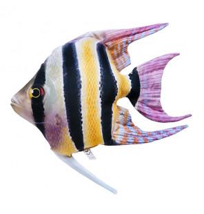 Gaby Fischkissen Süßwasser-Kaiserfisch Big 51cm, Plüschfisch, Stofftier Gaby Big Fish