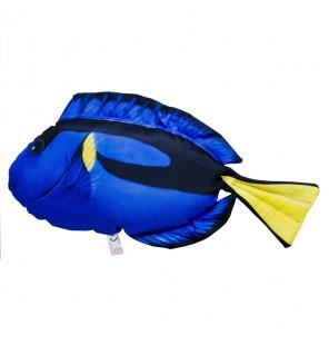Gaby Fischkissen Paletten Doktorfisch Mini 32cm, Plüschfisch, Stofftier Gaby Mini Fish
