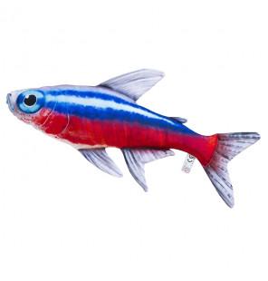 Gaby Fischkissen Neonfisch Big 53cm, Plüschfisch, Stofftier Gaby Big Fish