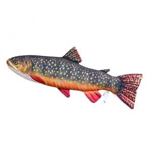 Gaby Fischkissen Bachsaibling Mini 35cm, Plüschfisch, Stofftier Gaby Mini Fish