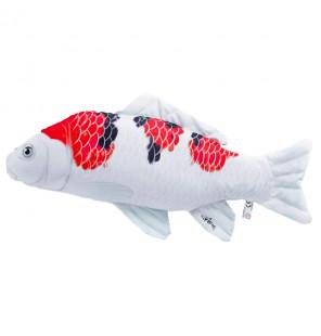 Gaby Fischkissen Karpfen Koi Sanke Big 60cm, Plüschfisch, Stofftier Gaby Big Fish