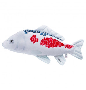 Gaby Fischkissen Karpfen Koi Asagi Big 60cm, Plüschfisch, Stofftier Gaby Big Fish