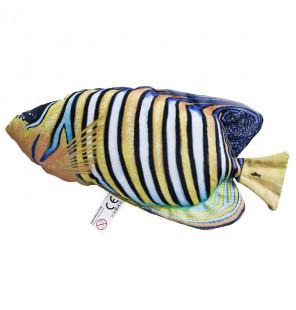 Gaby Fischkissen Pfauen-Kaiserfisch Bunt Big 56cm, Plüschfisch, Stofftier Gaby Big Fish