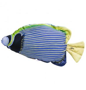 Gaby Fischkissen Imperator-Kaiserfisch Blau Big 56cm, Plüschfisch, Stofftier Gaby Big Fish