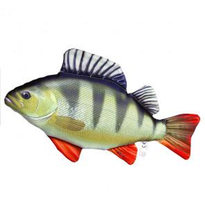 Gaby Fischkissen Barsch Mini 32cm, Plüschfisch, Stofftier Gaby Mini Fish