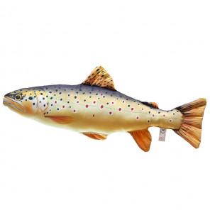 Gaby Fischkissen Bachforelle Big 62cm, Plüschfisch, Stofftier Gaby Big Fish