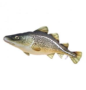 Gaby Fischkissen Atlantischer Dorsch Mini 38cm, Plüschfisch, Stofftier Gaby Mini Fish