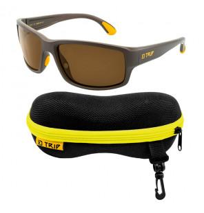Delphin Trip Polarized Sunglasses, Polarisierende Sonnenbrille mit Transportetui Delphin Polaroid Brillen & Zubehör