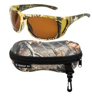 Delphin Forest FF Polarized Sunglasses polarisierende Sonnenbrille mit Transportetui Delphin Polaroid Brillen & Zubehör