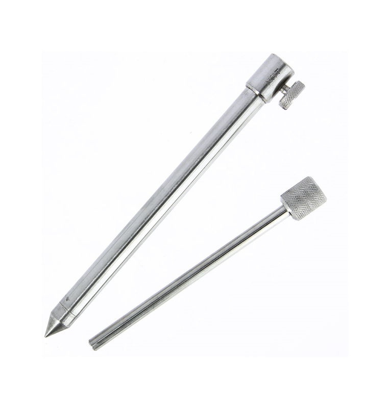 NGT Stainless Steel Bank Stick Deluxe Small 20-35cm NGT Rod Pod´s, Banksticks & Buzzerbars