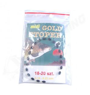 Schwimmer Stopper Gold Standard Midi 18 Stück 0,16-0,25mm JJ-Fishing Startseite