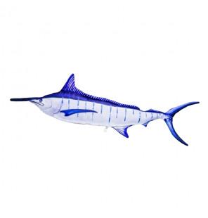 Gaby Fischkissen Blue Marlin Giant 118cm, Plüschfisch, Stofftier Gaby Big Fish