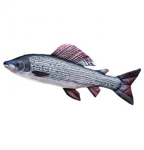 Gaby Fischkissen Äsche Big 65cm, Plüschfisch, Stofftier Gaby Big Fish