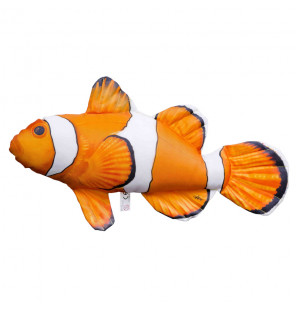 Gaby Fischkissen Clownfisch Mini 32cm, Plüschfisch, Stofftier Gaby Mini Fish