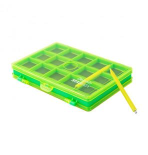Delphin Magbox Magnetbox grün 12,5x8x2cm Delphin Tackle Boxen