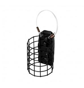 Delphin Metall Futterkorb Rund Feeder Cage Größe M 60g 2 Stück Delphin Futterkörbe & Bleie