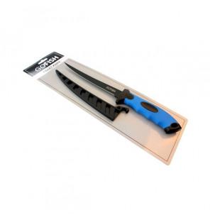 "GoFish Filetier-Messer 7""/17,5cm Klinge inklusive Schutzhülle, Fillet Knife Gofish Werkzeuge"