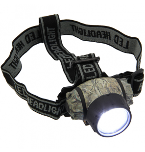 NGT Headlight Camo 19 Led NGT Kopflampen