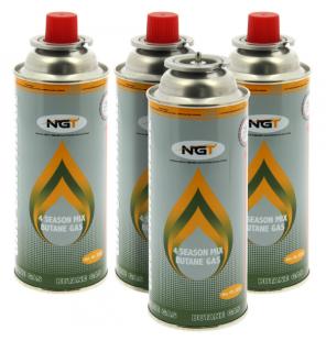 NGT 227g Gaskartuschen 4er Pack