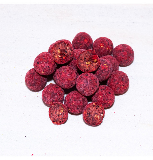 Meus Raspberry Dream Boilies 18mm Top Meus Serie Boilies