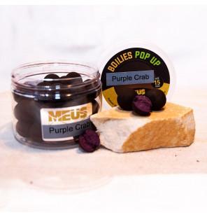 Meus JJ-Fishing Edition Pop Up 15mm Purple Crab, Köder JJ-Fishing Pop Up´s